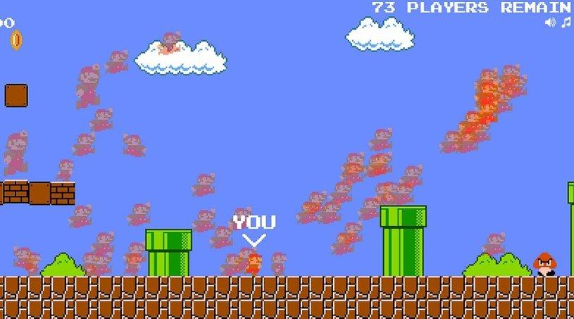 Энтузиаст создал королевскую битву на основе Super Mario Bros.