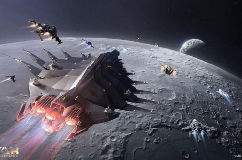 В Star Conflict началась «Лунная гонка», посвящённая юбилею высадки на Луну