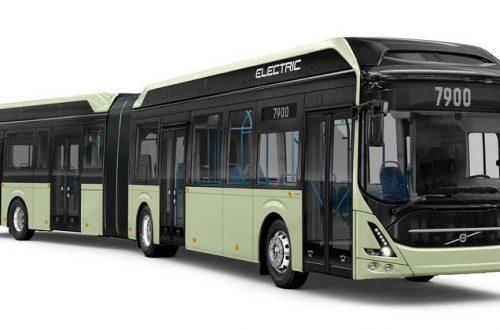 Завершив пилотный проект, компания Volvo представила сочлененный электрический автобус 7900