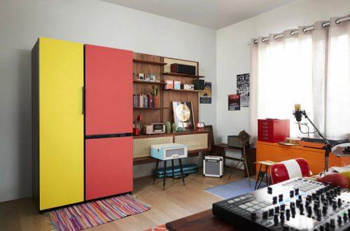 Samsung Prism — проект, который позволит пользователям настроить размер, цвет и текстуру холодильника под свои нужды
