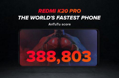 Redmi K20 Pro — самый быстрый смартфон в мире