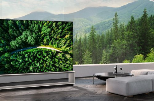 LG начинает продажи первого в мире телевизора OLED 8K