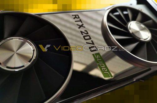 Опубликовано фото видеокарты Nvidia GeForce RTX 2070 Super