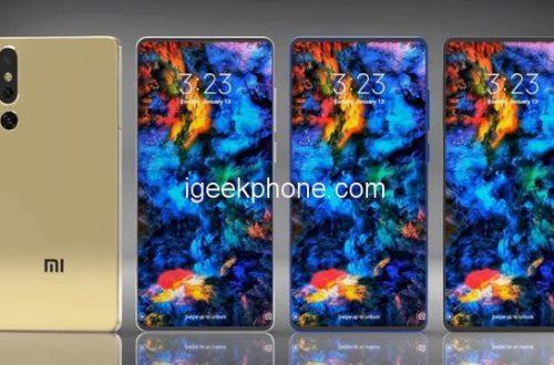Xiaomi Mi Mix 4 может получить подэкранную камеру. Неофициальные изображения
