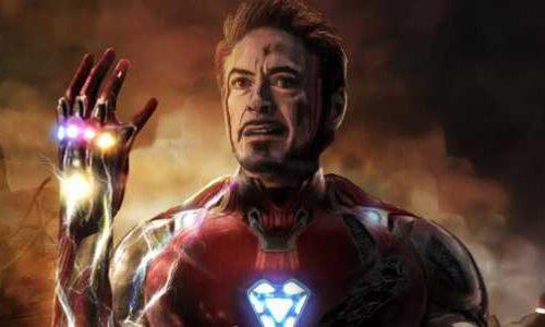 Потрясающий арт с Тони Старком по случаю выхода переиздания «Мстителей 4»