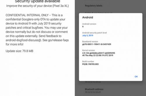 Google по ошибке выпустила июльское обновление системы безопасности Android