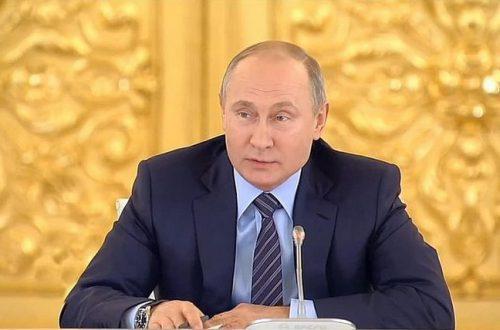 """Владимир Путин поприветствовал участников и гостей юбилейного 30-го """"Кинотавра"""""""