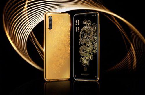 Xiaomi показала специальную версию флагманского смартфона Xiaomi Mi 9 Golden Dragon