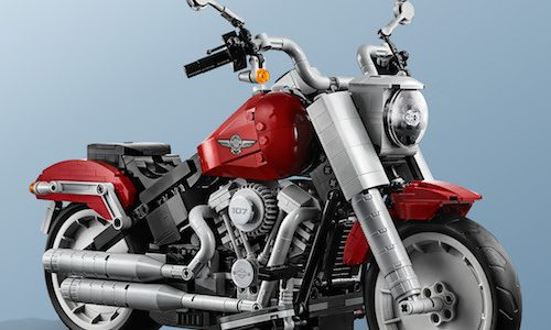 LEGO выпустят мотоцикл ExpertHarley-Davidson Fat Boy