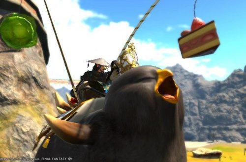 Китайские фанаты Final Fantasy XIV жутко объедаются в KFC ради ездовых животных