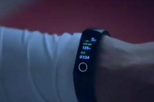 Первое официальное видео Honor Band 5 посвящено фитнес-возможностям браслета
