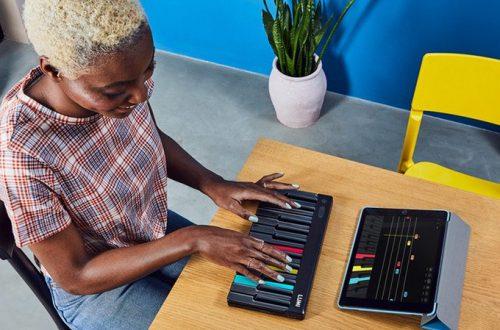 На выпуск миниатюрной музыкальной клавиатуры LUMI уже собрано 1,8 млн долларов
