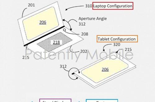 Компания Google получила патент на гибридный ноутбук «2-в-1»