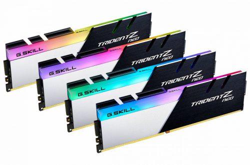 G.Skill выпускает серию модулей памяти Trident Z Neo DDR4 для систем на процессорах AMD Ryzen 3000