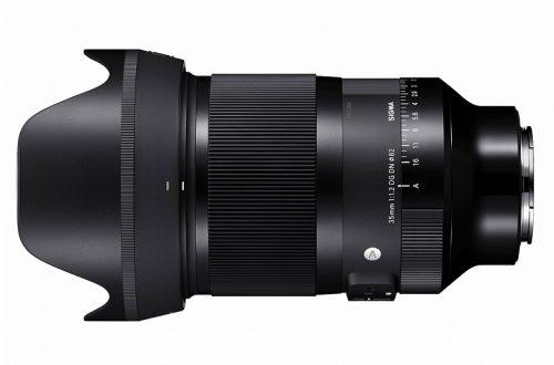 Объектив Sigma 35mm F1.2 DG DN Art весит более килограмма