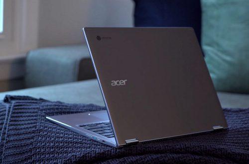 Acer Chromebook Spin 13 — хробмук с процессором Intel Core i7 и стоимостью 1600 долларов