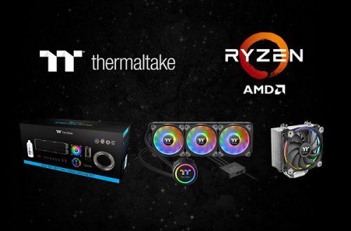 Компания Thermaltake заверяет, что ее системы охлаждения совместимы с процессорами AMD Ryzen 3000