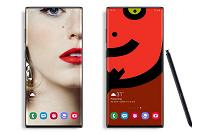 Первые обои для Samsung Galaxy Note10+, которые скрывают фронтальную камеру
