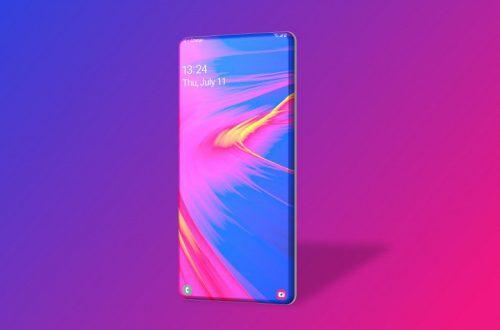 Samsung Galaxy S12 может вовсе лишиться рамок: рендер