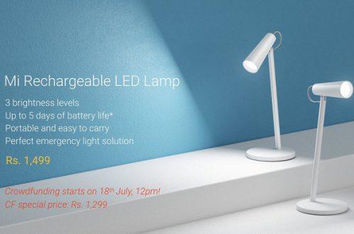 Аккумуляторная настольная лампа Xiaomi Mi Rechargeable LED Lamp не похожа на предшественников