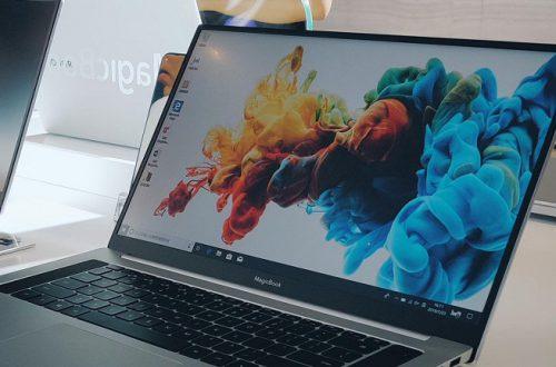 Фотогалерея дня: живые снимки ноутбука Honor MagicBook Pro со всех сторон