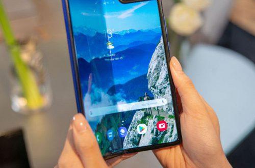Сгибающийся смартфон Samsung Galaxy Fold выйдет до начала продаж новых iPhone