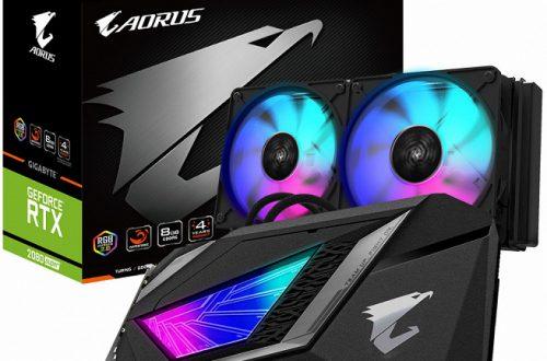 3D-карта Gigabyte Aorus GeForce RTX 2080 Super Xtreme WaterForce 8G оснащена системой жидкостного охлаждения