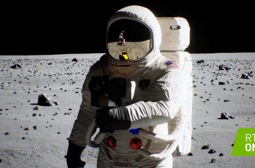 Видео дня: Nvidia использовала трассировку лучей для воссоздания исторической высадки на Луну