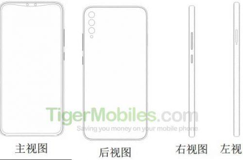Xiaomi запатентовала смартфон со сдвоенной фронтальной камерой в необычном вырезе