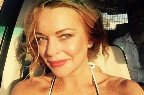 """Подзабытая Линдси Лохан порадовала поклонников """"голым"""" фото в день своего рождения"""