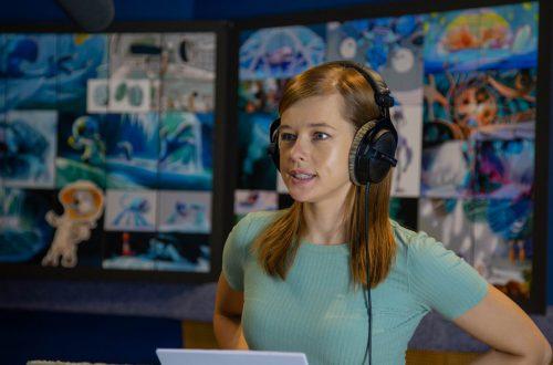 Катерина Шпица озвучила одну из главных ролей в третьей части франшизы «Белка и Стрелка» студии КиноАтис