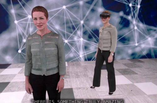 Видео дня: виртуальный клон-переводчик, созданный силами гарнитуры Microsoft HoloLens