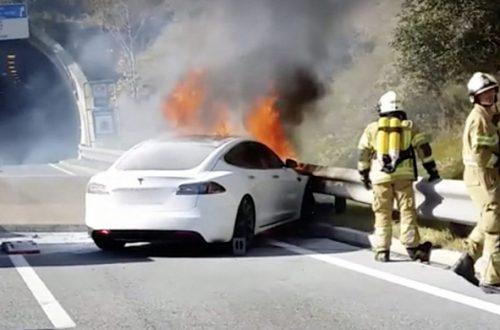 Очередной отчёт Tesla: электромобили компании попадают в аварии и горят реже обычных