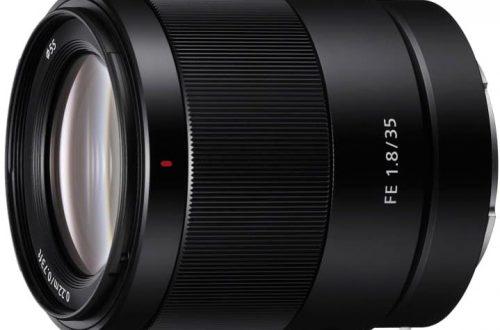 Модель FE 35mm F1.8 пополнила линейку полнокадровых объективов с байонетом Sony E