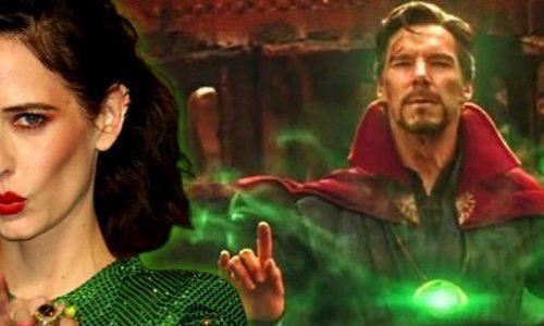 Как Ева Грин выглядит в роли Кошмара из «Доктора Стрэнджа 2»