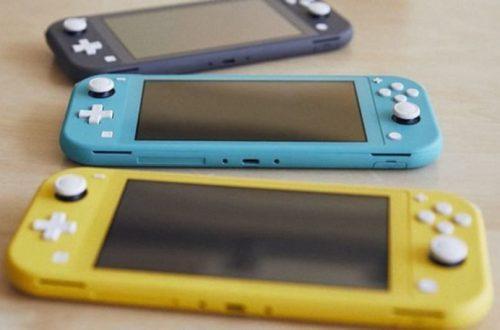 Открыт предзаказ на Nintendo Switch Lite