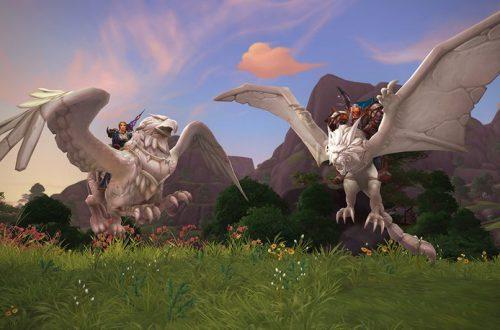 В честь 15-летия World of Warcraft в игре появились новые платные маунты