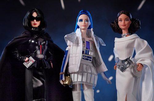 Кукла-дроид и девочка-ситх: в продаже появились Барби в стиле «Звёздных Войн»