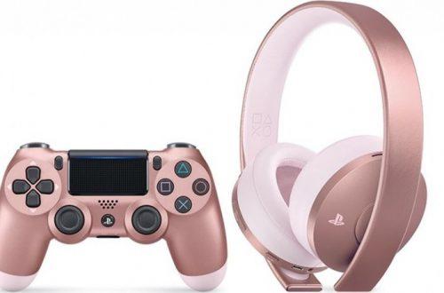 Sony представила розовые наушники и четыре новых цвета для контроллеров