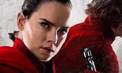 Рей на Темной стороне на постере «Звездных войн: Скайуокер. Восход»