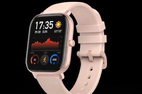 Новые умные часы Huami Amazfit получили экран лучше, чем у Apple Watch
