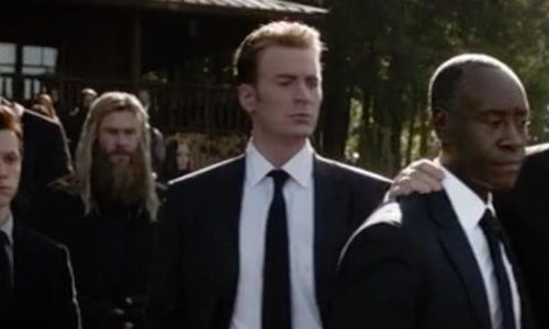 В сцене похорон Тони Старка мог быть еще один персонаж