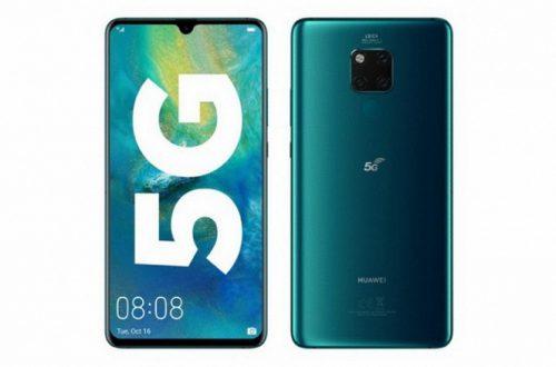 Huawei не ждёт больших продаж смартфонов с 5G даже в следующем году