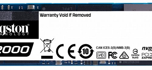 Твердотельные накопители Kingston Digital A2000 выпускаются объемом до 1 ТБ