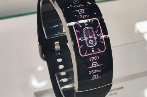 Умные часы Huami Amazfit X оснащены гибким дисплеем