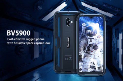 Представлен неубиваемый смартфон Blackview BV5900 с защитой IP69K и аккумулятором на 5580 мА•ч