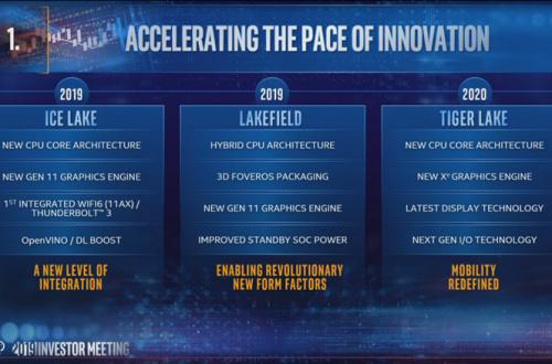 После Ice Lake. В Сеть попали результаты тестирования процессора Intel Tiger Lake
