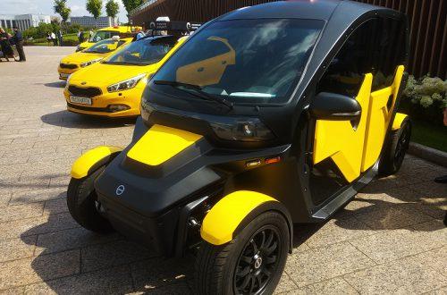 «Калашников» представил электромобиль для сервисов такси