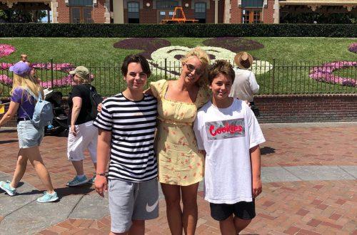 Жизнь после психиатрической клиники налаживается: Бритни Спирс посетила Диснейленд с сыновьями
