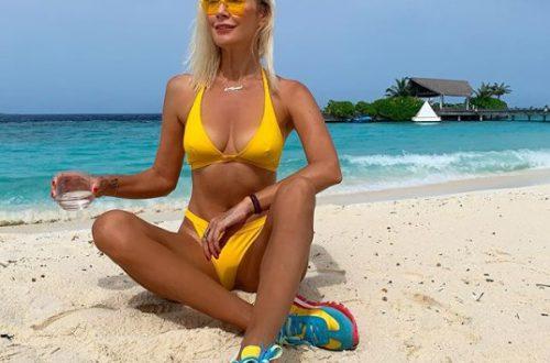 """""""Любимая резиночка"""": Елена Летучая показала эффективные упражнения на Мальдивах"""